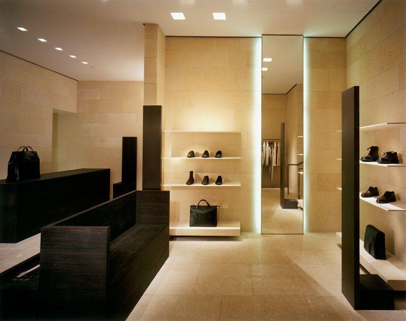Giorgio Armani Store Boston USA By Architect Claudio Silvestrin