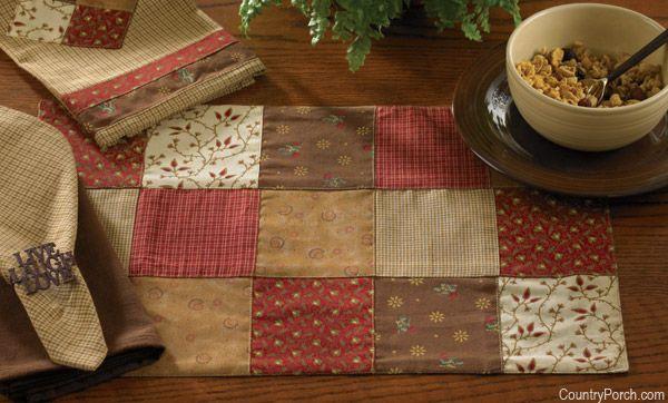 Park Designs Grandma S Quilt Kitchen Decorating Theme Kitchen Placemats House Decorating Themes Diy Home Decor Projects