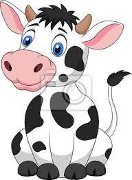 Dibujos De Vacas A Color Para Imprimir Buscar Con Google Posillos