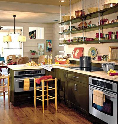 the shelf hangars - but I wouldnt do this in the kitchen ... on creative kitchen sink ideas, creative kitchen backsplashes ideas, creative kitchen countertop ideas,