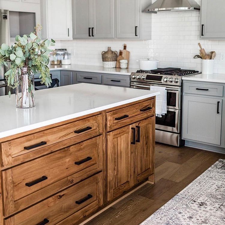 Grey Stained Kitchen Cabinets Design Schmidt Gallery Design
