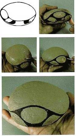 pintado de piedras diseos…how to block in the basic shapes of a turtle….The fun part is to design the shells! Thanks for sharing!!! de piedras diseos…how to block in the basic shapes of a turtle….The fun part is to design the shells! Thanks for sharing!!!