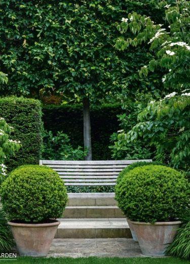 Symmetry in the garden in the garden