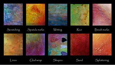 Gesso Texture Paste Art Techniques Art Journal Techniques Abstract Art Painting