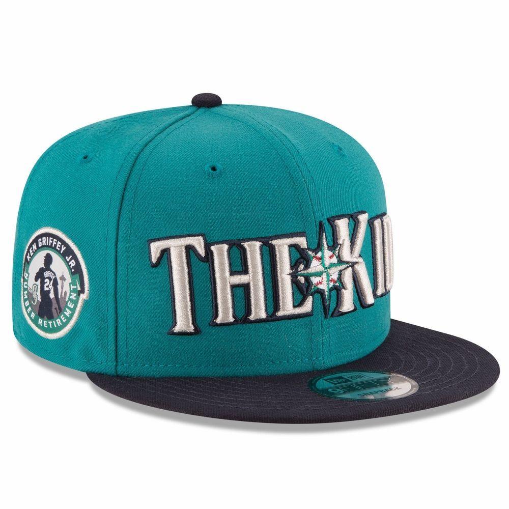 low priced 83f7a 04d0f MLB Seattle Mariners Ken Griffey Jr. New Era The Kid 9FIFTY Snapback Hat   NewEra  SeattleMariners
