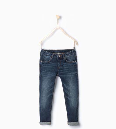 Imagen 1 de Pantalón denim básico slim fit de Zara | Jeans
