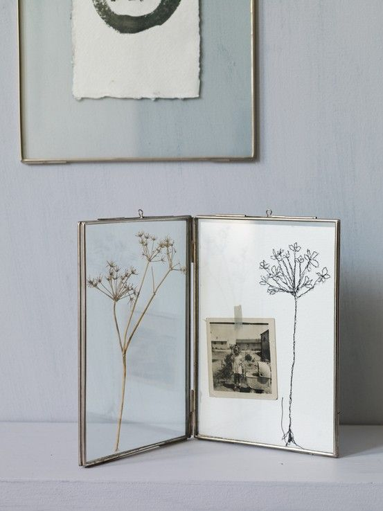 Hinged Glass Frame- Simply perfect. Whether you use it to display ...