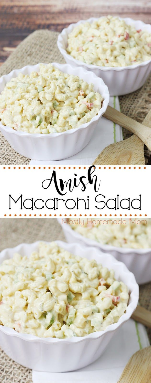 Amish Macaroni Salad -   22 macaroni salad recipes ideas