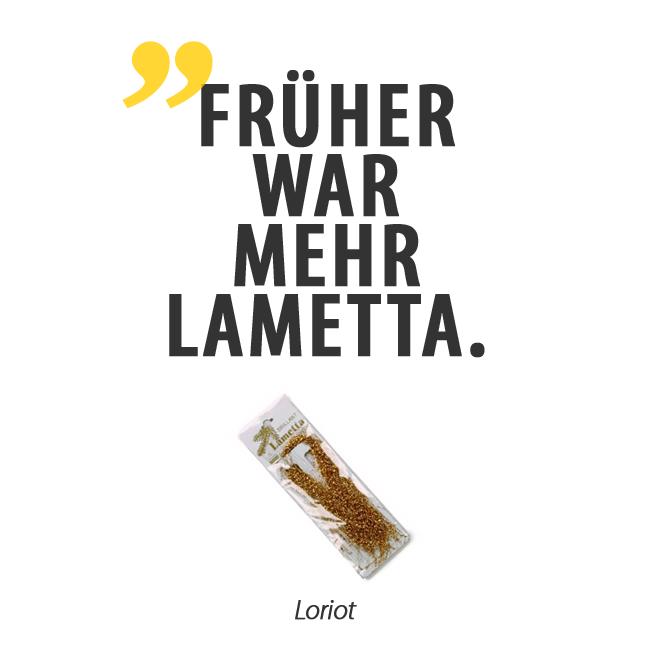 Früher War Mehr Lametta Loriot Weihnachten Zitat