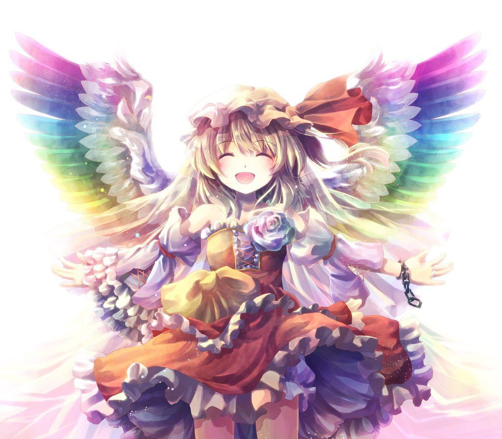 Rainbow Angel by on