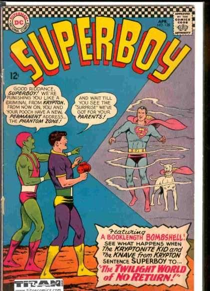 Best Book Cover Zone : Kryptonite kid superman phantom zone krypton knave
