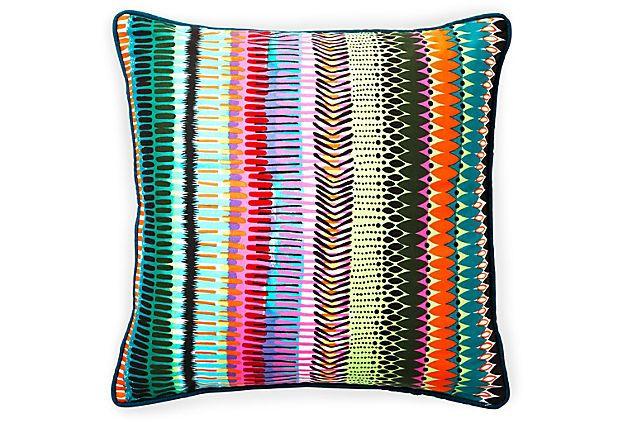 20x20 Fire Pillow, Multi