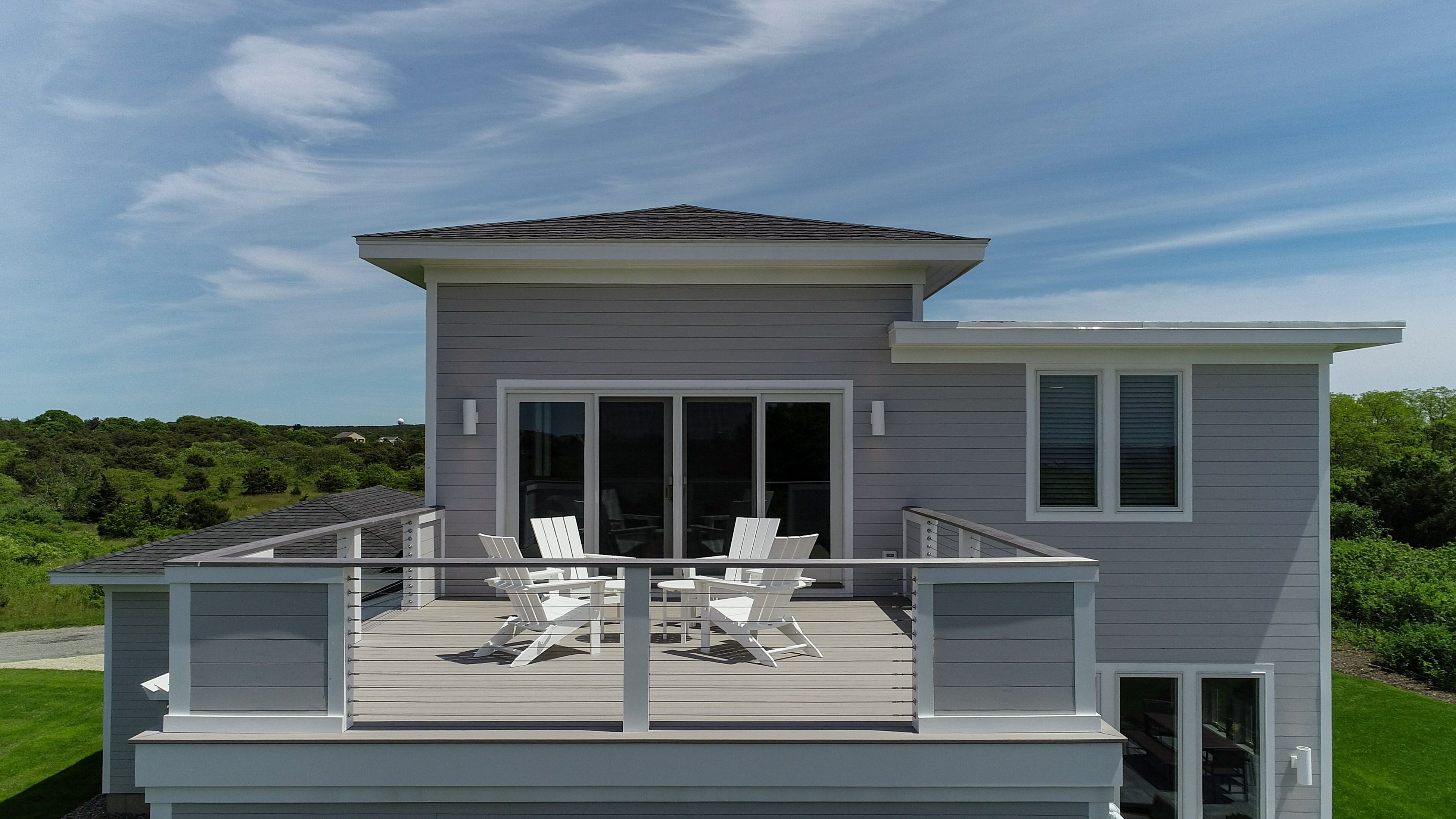 Roof Deck By Reef Builders Cape Cod Cape Cod Custom Homes Roof Deck