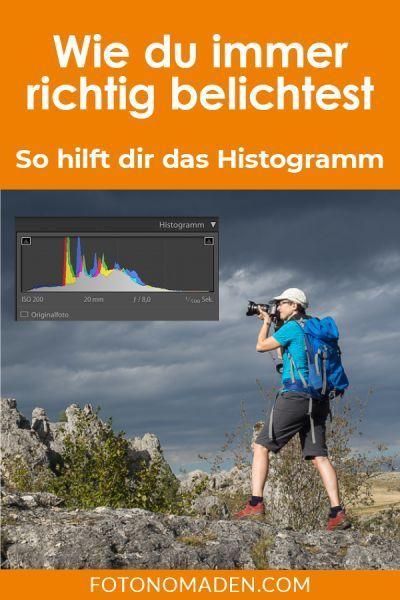 Einfach richtig belichten mit dem Histogramm | FOTONOMADEN.COM #backdropsforphotographs