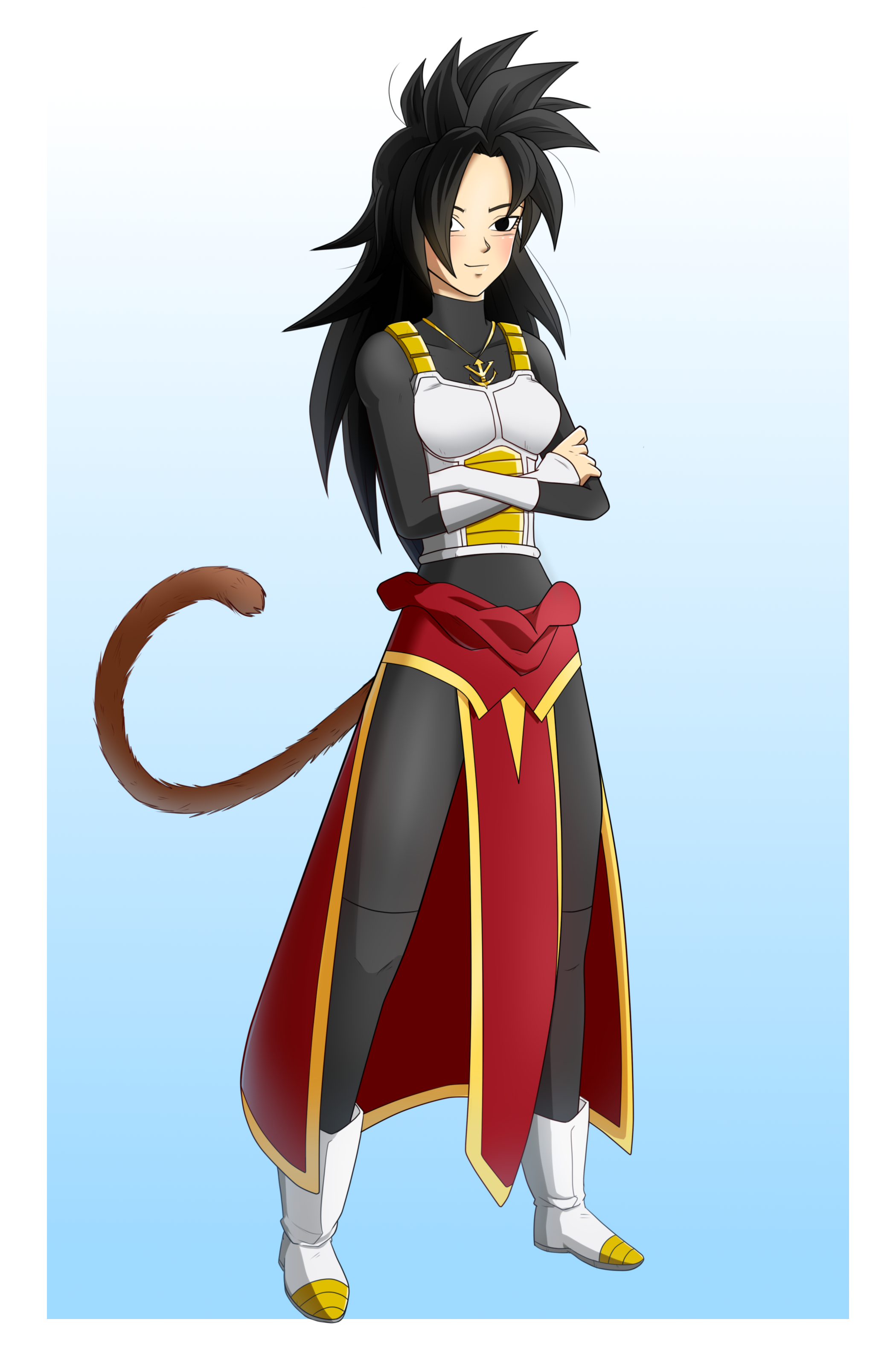 6 Commission Fullbody Full Color Female Character Named Mirlitha For Viathan1994 Dragon Ball Super Manga Anime Dragon Ball Super Female Dragon