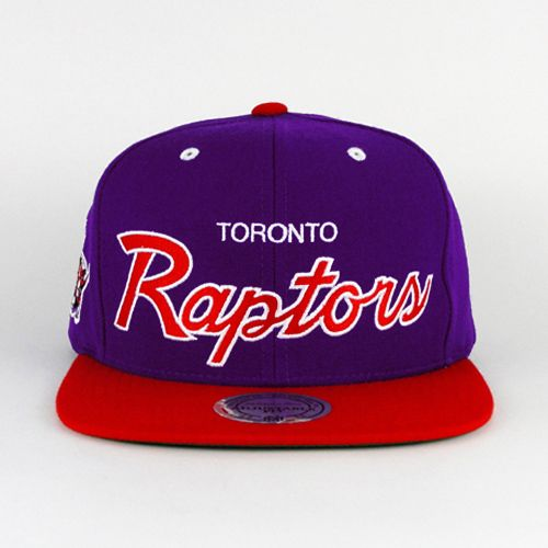 Toronto Raptors SNAPBACK Mitchell And Ness (Green Under)  5a3567c6048e