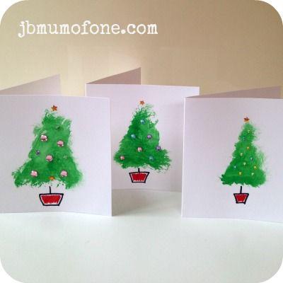 Xmas Tree Cards 300x300 Toddler Craft: Super Simple Christmas ...