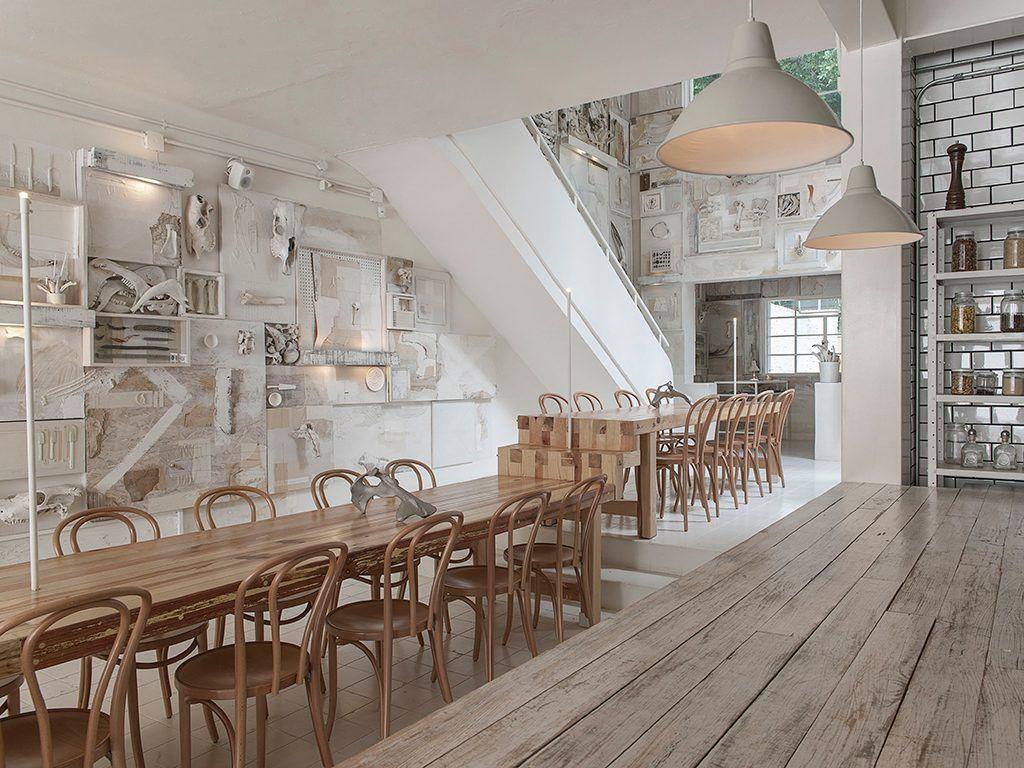 Il ristorante Hueso | Commercial spaces | Pinterest