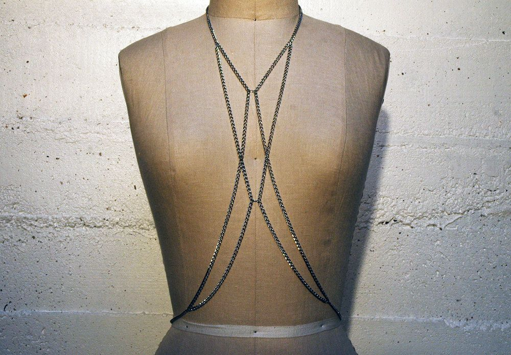 HARNESS, battle-ready harness, cool, sexy, modern, futuristic, accessory for the 21st century, buy it from the inventor. $95.00, via Etsy.