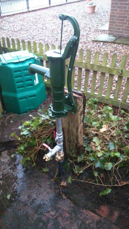 Handpumpe Mit Anschluss Fur Elektrische Pumpe Brunnen