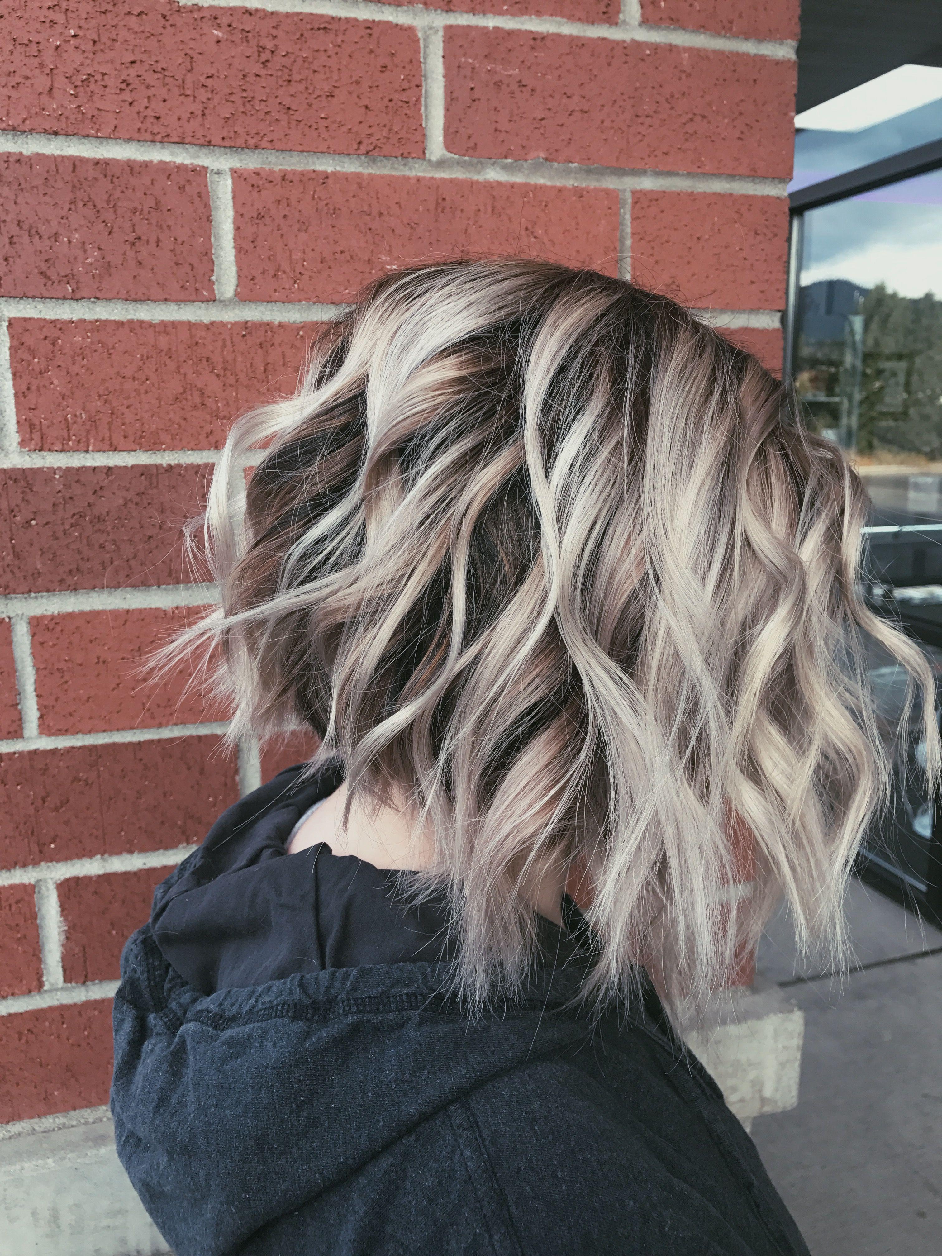 Armani hairstyle men blunt bob balayage and blondes