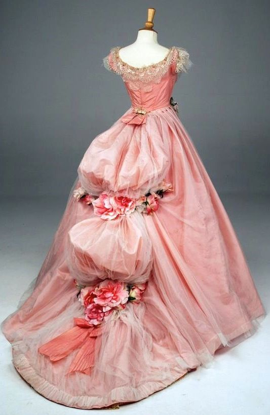 1860s ballgown Retro Rack: Book Outfits ~ In the Pink with Soulless ...