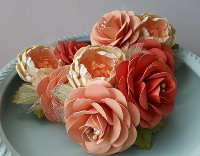Comment Creer Une Fleur En Papier Crepon Pinterest Decoration