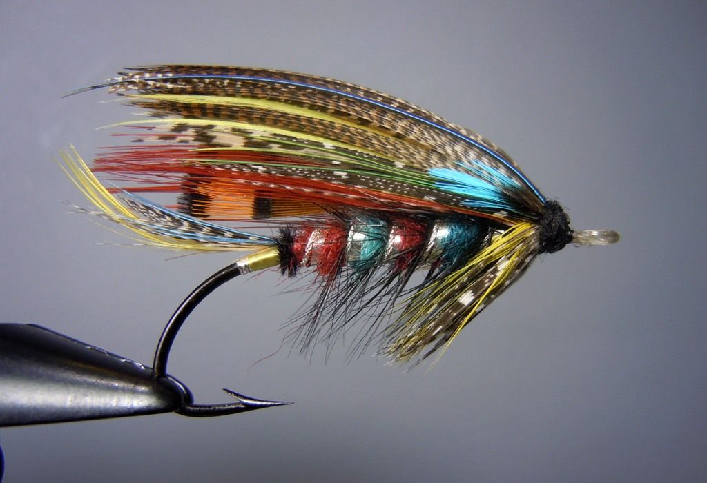 The Butcher 2/0 - Classic and Artistic Salmon Fly Tying ... Classic Atlantic Salmon Fly Patterns