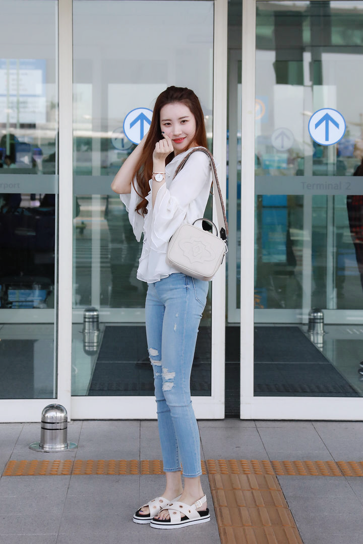 Sunmi Airportfashion Kpop Fashion Women Korean Fashion Fashion