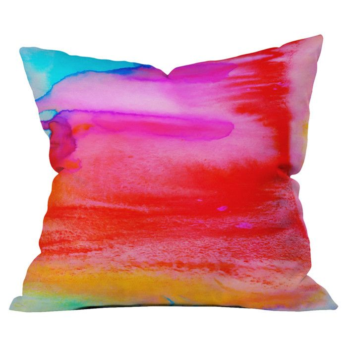 All You Need To Do Is Color A White Pillow With Fabric