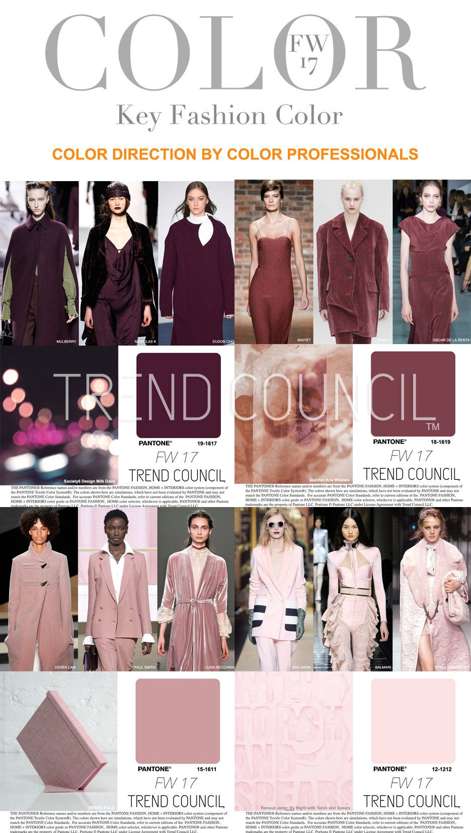 Tendencias : Trend Council is excited to present the FW17 ...