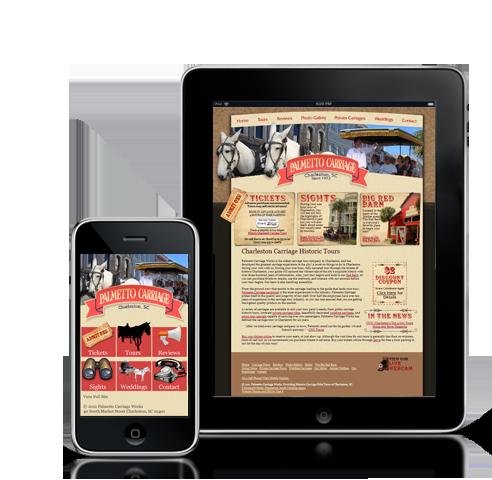 mobile #website design #Mobile Site for tablet