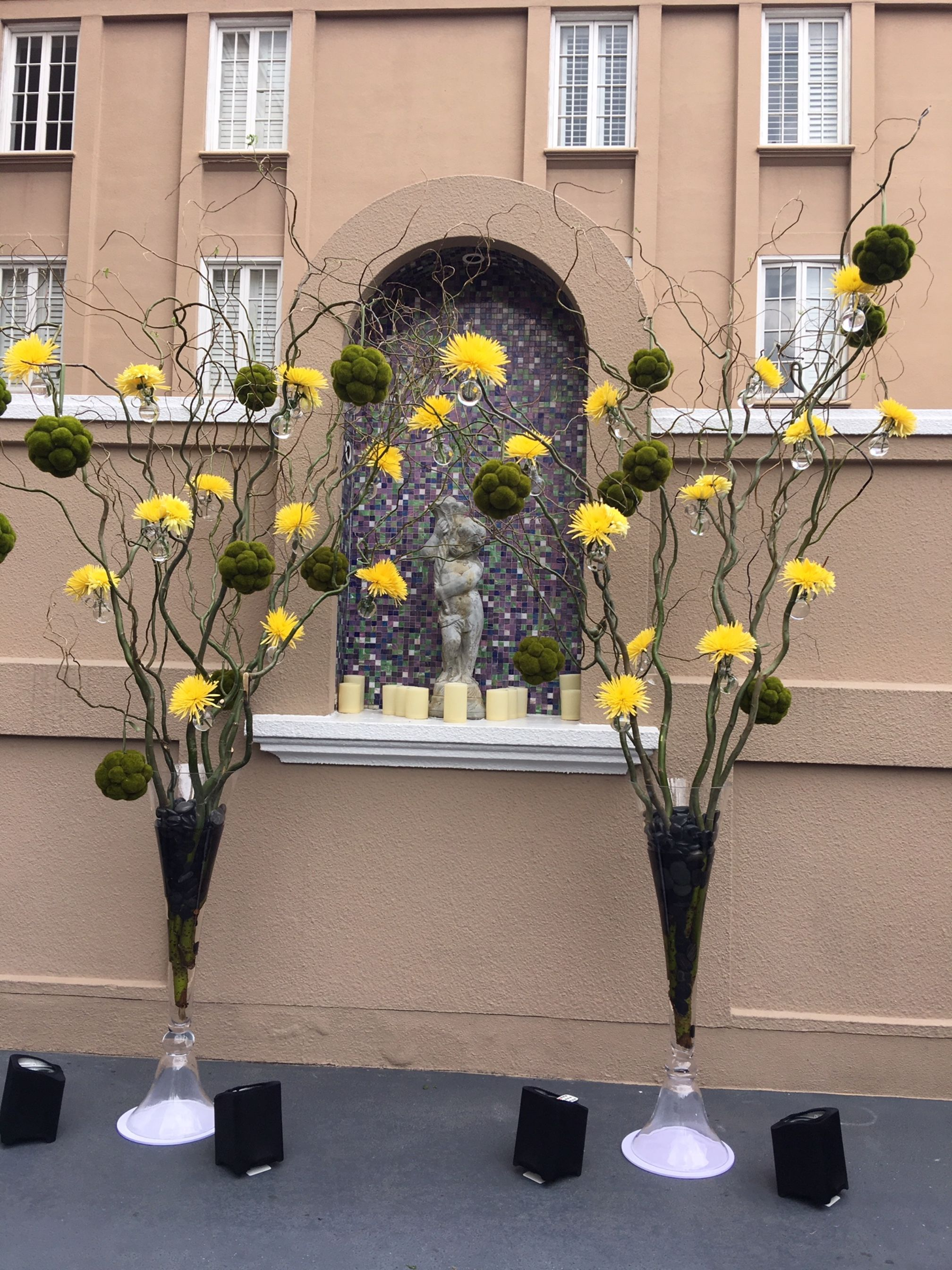 Curly Willow Entrance Decor Curly Willow Centerpieces Curly Willow