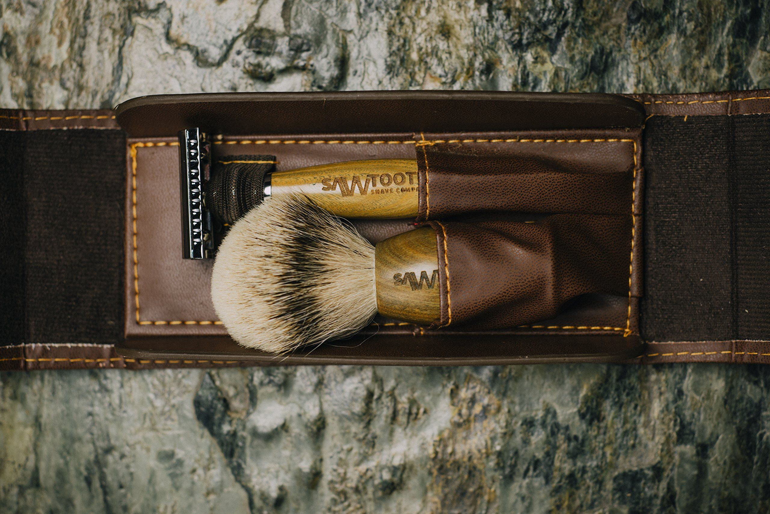 Sawtooth Shave Co. Most Popular Double Edge Safety Razor