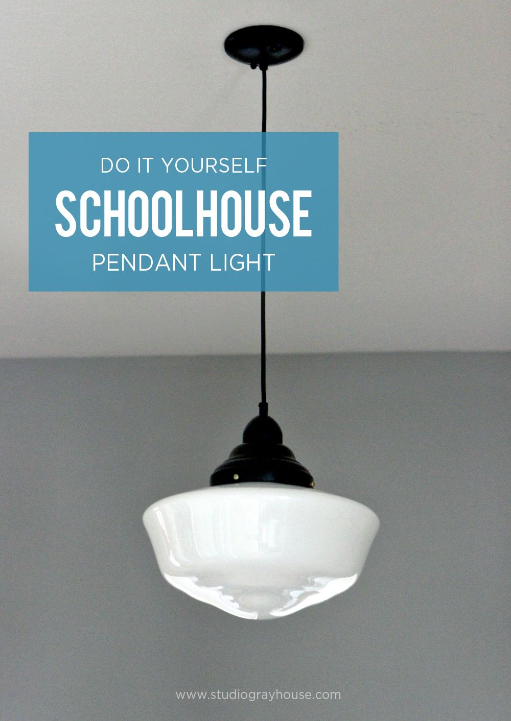 Schoolhouse Pendant Light Solution Pinterest Pendant Lighting - Affordable pendant lighting