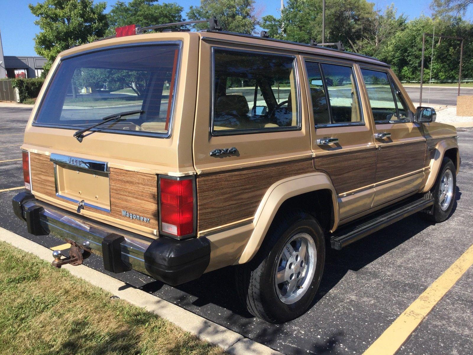 87 Jeep Wagoneer Limited Sport Utility 4 Door 4 0l