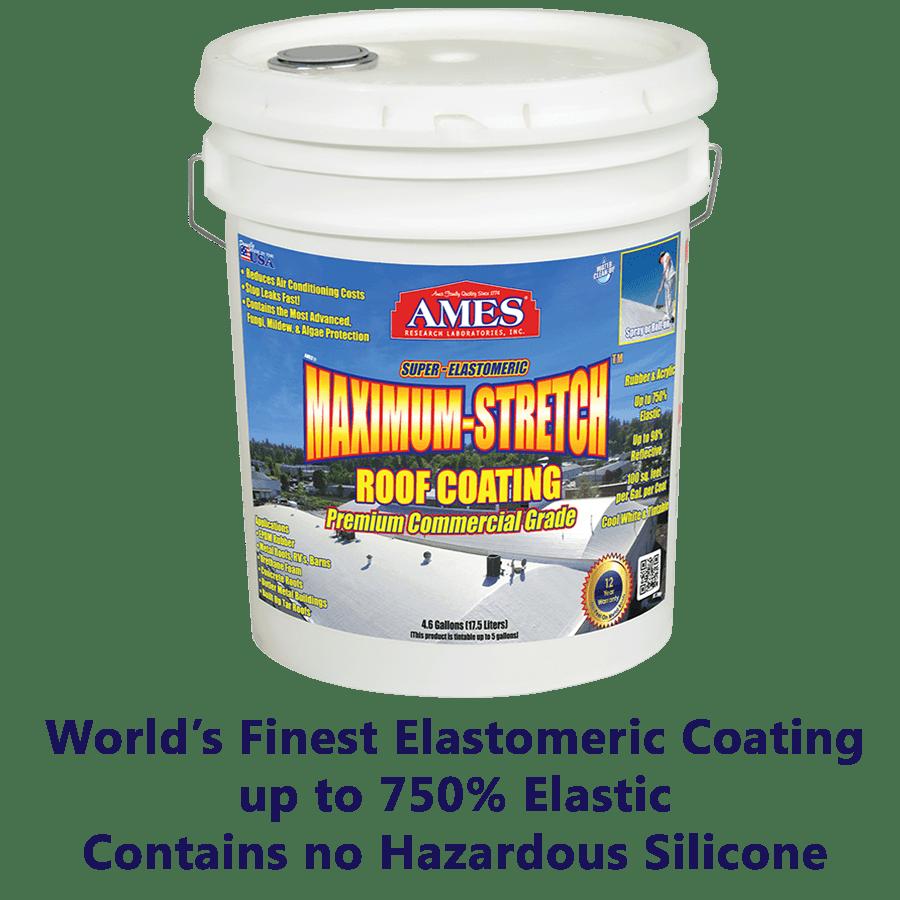 Best Maximum Stretch® Liquid Rubber Roof Coating Sealant In 400 x 300