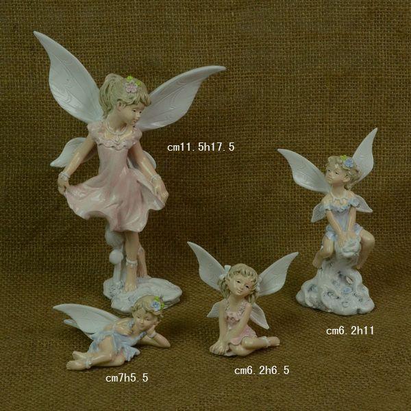 Beautiful Resin fairies figurine for docoration home
