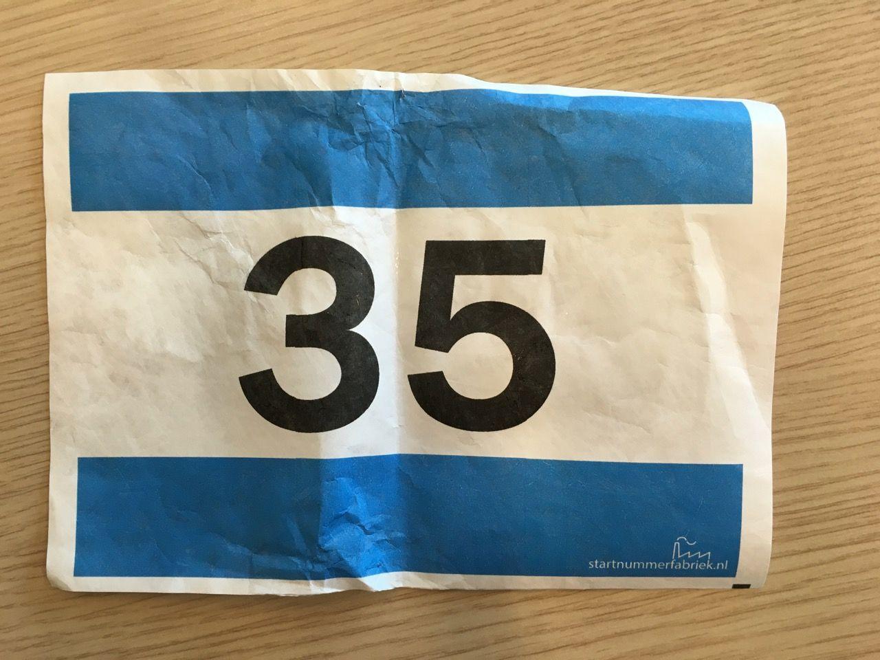 startnummer 35