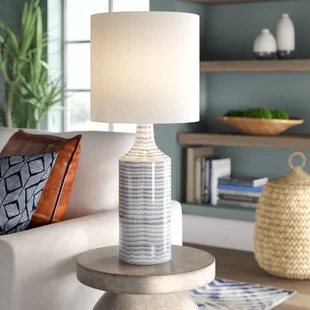 Table Lamps You Ll Love In 2020 Wayfair In 2020 Table Lamp Linen Shades Home Decor Furniture