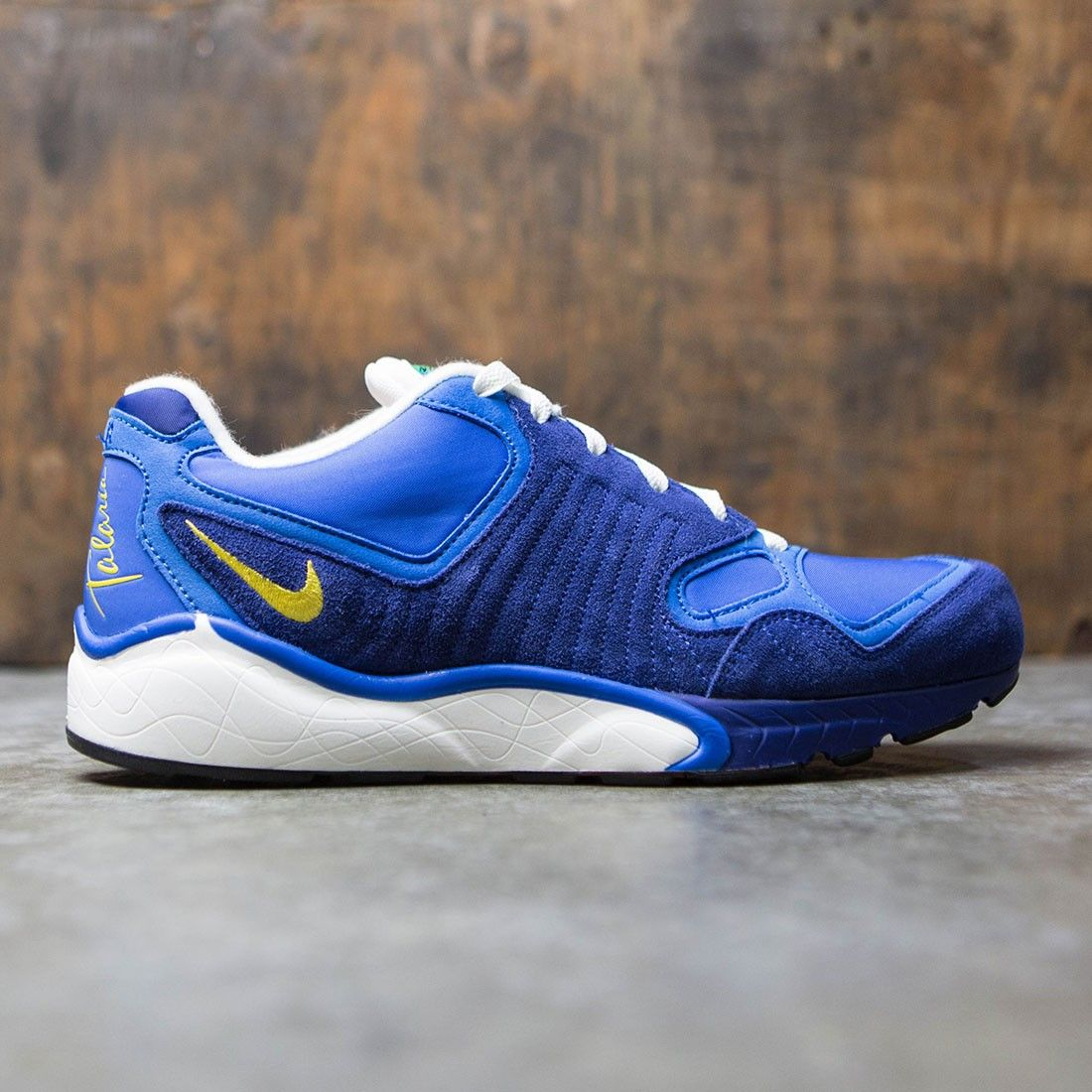on sale a3876 3b1fa Nike Men Air Zoom Talaria 16 (soar  vivid sulfur-deep royal blue-black)