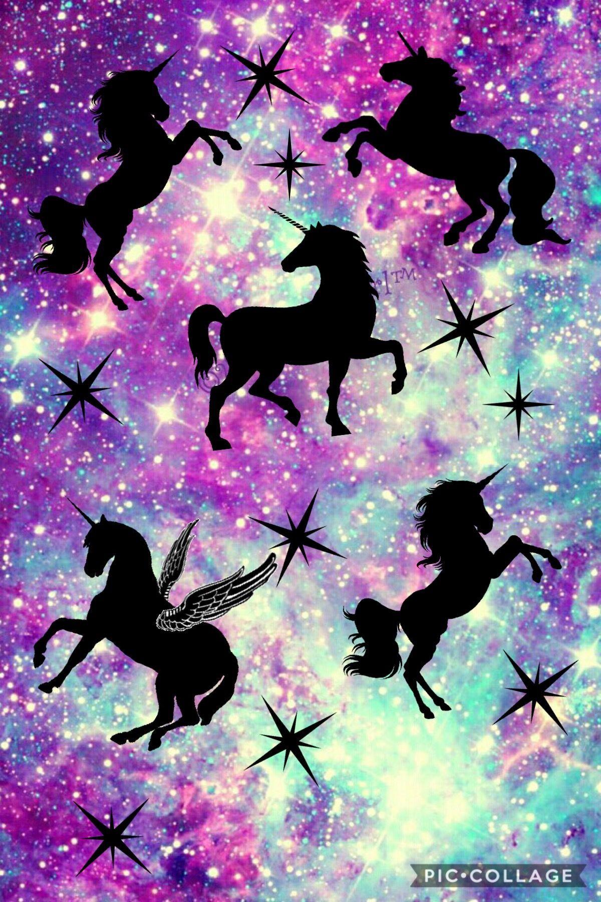 Unicorn Galaxy Screensaver 💜 | Jednorožci