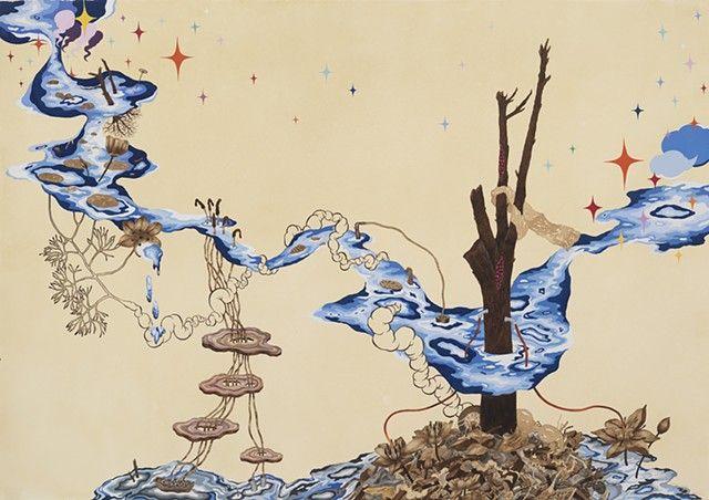 Blue (what remains after) | Naoe Suzuki | Dead Art | Pinterest | Art