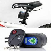 Anti-Theft Lock Bike Bicycle Security Vibration Alarm  Wireless Remote Control