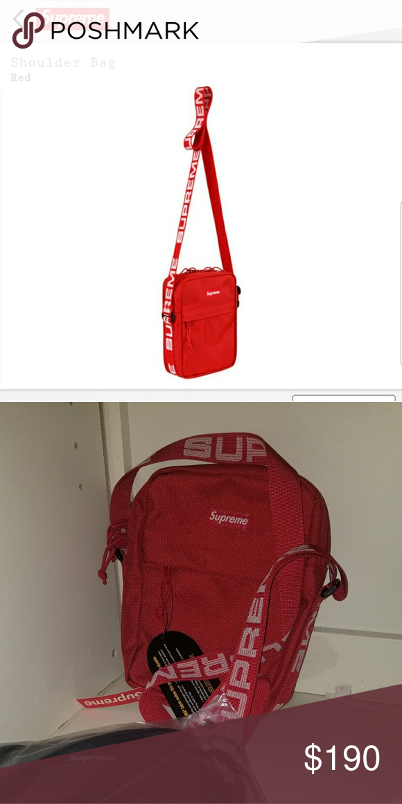 2b668e3de3 Supreme Shoulder Bag Supreme SS18 release Brand New with tags Condition  10 10 Never worn Available to ship immediately Supreme Bags