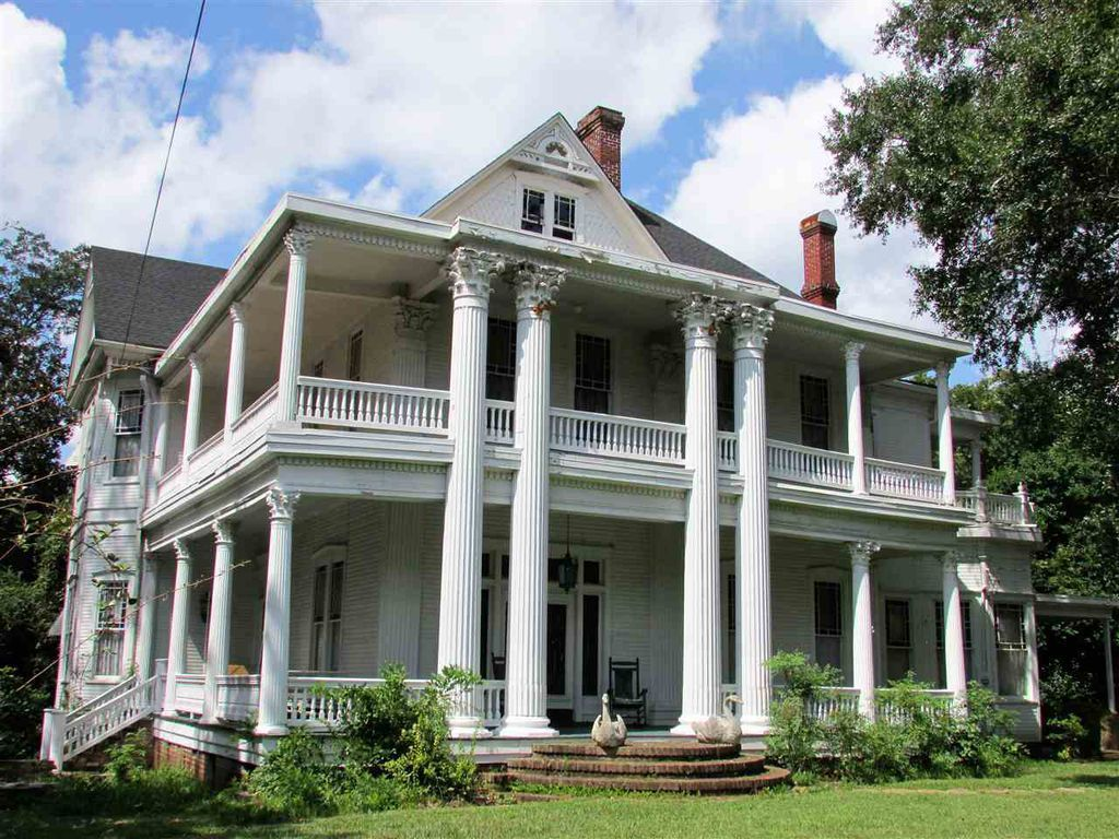 1892 Greek Revival Mansion In Crystal Springs Mississippi Captivating Houses Mansions Southern Mansions Old Houses