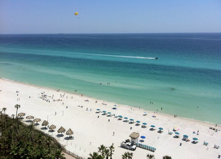 Holiday Inn Panama City Beach Resort In Florida Panama City Beach Resorts Panama City Panama Panama City Beach