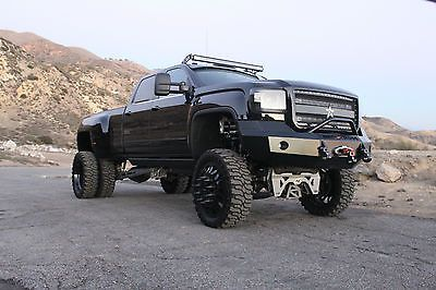 Custom Lifted 2015 Gmc 3500 Dually 4x4 Sema Build Gmc Custom