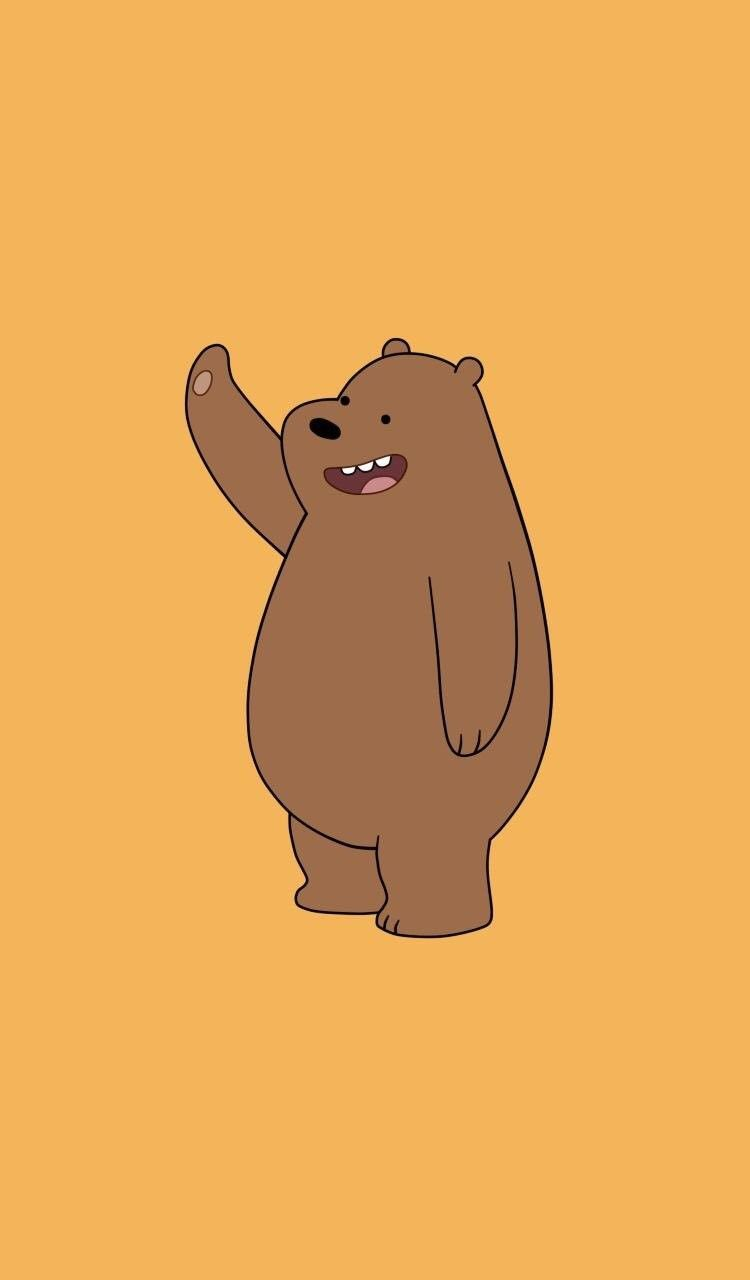 We Bare Bears Wallpaper Hd Anak Binatang Ilustrasi Karakter Beruang Kutub