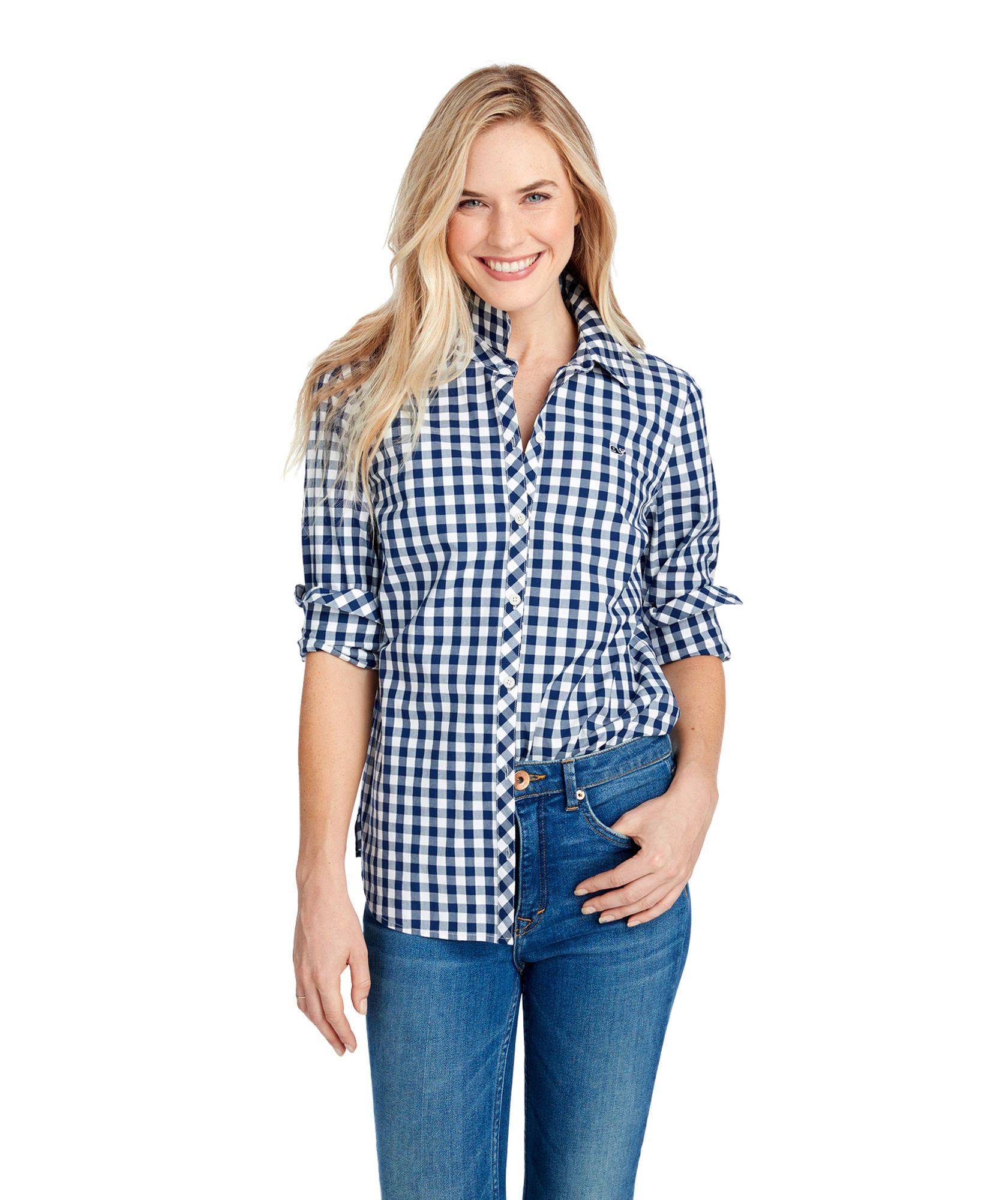 c56bc8c3 Mini Gingham Classic Button Down | Vineyard Attire | Button downs ...